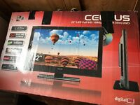 Celcus 22'' Full HD 1080p TV with Slim DVD