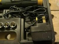 Cordless screwdriver inc box & attachment's
