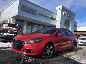 2015 Dodge Dart GT,LEATHER,ALLOYS,HTD SEATS