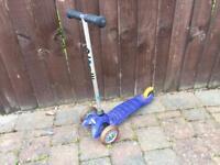 Boys mini micro scooter