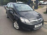 2014 Vauxhall ZAFIRA Exclusive 1.7 CDTi Flex MPV Diesel *LOW MILES* 01-Year MOT *01-Keeper from NEW*