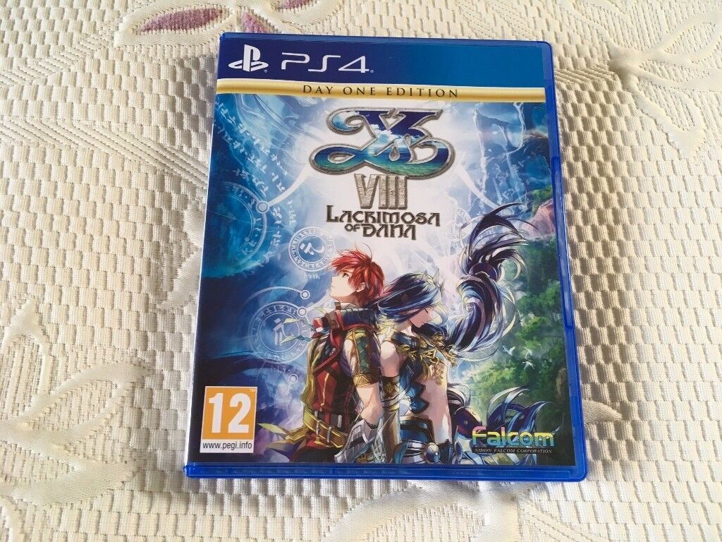 PS4 YS VIII – Lacrimosa of Dana (Used) Collect Only