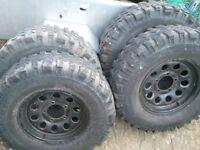 Suzuki SJ modular wheels/tyres