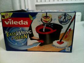 Vileda power ring floor mop