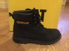 Men's Caterpillar CAT Boots. Black. Size 42/uk8/us9