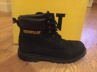 Men's Caterpillar CAT Boots. Black. Size 42/uk8/us9