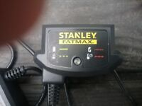STANLEY FAXMAX RECHARGEABLE DRILL BATTERIES AND CHARGER