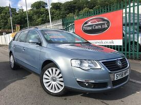 2009 (58 reg) Volkswagen Passat 2.0 TDI CR Highline DSG 5dr Estate Automatic Turbo Diesel