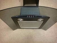 Cooker Hood - Baumatic 60cm Curved glass - excellent condition