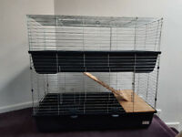 2 Tier rabbit cage
