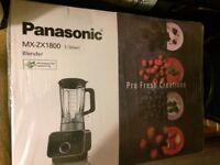 PANASONIC MX-ZX 1800 Blender Brand New in box. Colour SILVER.