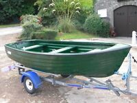 FISHING DINGHIES 12FT AND 15 FT MODELS NEW AND UK WIDE DELIVERY