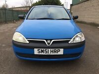 Vauxhall Corsa 1.2 i 16v Club 5dr (2 KEYS) (Blue) 2001