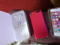 Pink i pod touch 6th generation hardly used