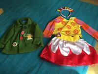 Upsy Daisy dress up and cardigan