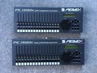 Peavey PC1600x MIDI controllers x 2, hardly used - excellent condition - only one power supply!