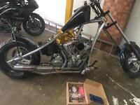 Harley chop project swap px