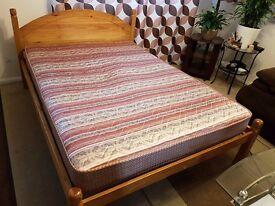 double bed - pine, Julian Bowen frame
