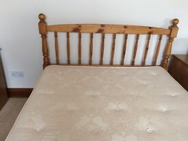 Bed Double including Mattress. Excellent condition.