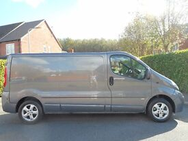FINANCE ME!! NO VAT!! Stunning 2014 Vauxhall Vivaro Sportive with only 71k from new!!