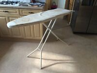 Ironing board, fully functional, folds flat :-)