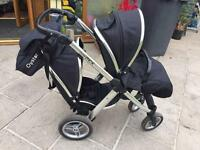 Oyster max tandem/double pram