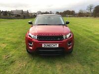 Land Rover Range Rover Evoque SD4 DYNAMIC (red) 2015-12-03