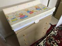 Baby Chest Of Drawers with Changing Unit