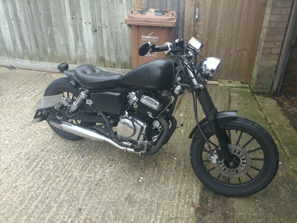 AJS DD-125-E8 bobber 125cc