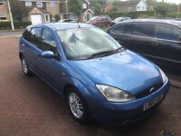Ford Focus 1.6, blue, drives great
