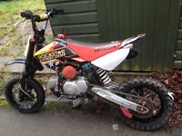 M2R 110cc pitbike lots of upgrades CHEAP