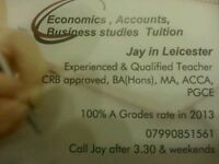 Economics, Accounting & Business Tutor. Leicester