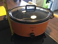 Slow cooker 6.5L (good size for anything and joints)