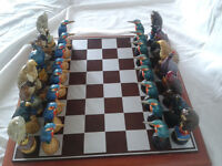 Birds of Prey Chess Set