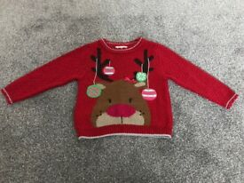 Christmas jumper 1.5-2 years / 18-24 months