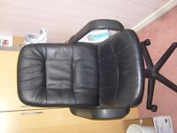 black office chair never used