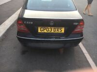 Breaking for parts mercedes w203 c220cdi