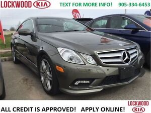 2010 Mercedes-Benz E-Class E350 - ONE OWNER TRADE, LOADED!!!