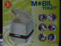 Portable Camping Toilet New and Unused