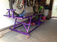 Motorbike Hydraulic Bike Lift