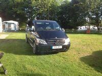 Mercedes Vito 116 CDI Sport 5 seater Dual Purpose travel liner