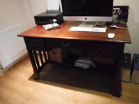Large Solid wood Desk