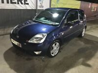 Ford Fiesta 3 door FSH 2006 1.4 Low Mileage Petrol Manual 1 year MOT