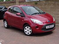 EXCELLENT LOOKS!!! 59 REG FORD KA 1.2 STYLE 3dr, 1 YEAR MOT, FINANCE AVAILABLE, AA WARRANTY