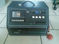Coomber 2241 stereo cassette CD player