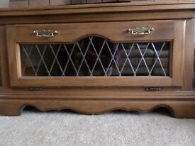 Large tv unit in excellent condition