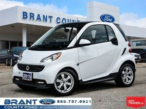 2015 smart fortwo Pure - CANADIAN PACKAGE, PANORAMIC ROOF!