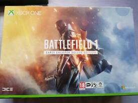 Limited edition Battlefield 1 Xbox one s 1tb console