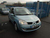 2008 08 RENAULT SCENIC 1.6 DYNAMIQUE AUTOMATIC 47,000 MILES ONLY BARGAIN!!!!!