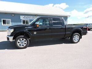 2012 Ford F-350 Lariat,DIESEL,CREW,LEATHER,NAVI,LOADED!!